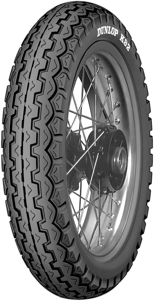 Dunlop K82 3.25-18 52S F/R TT